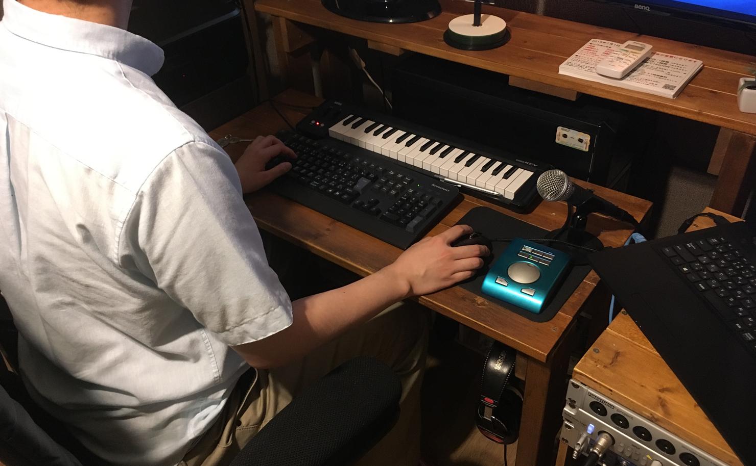 レコーディングスタジオエンジニアマーク