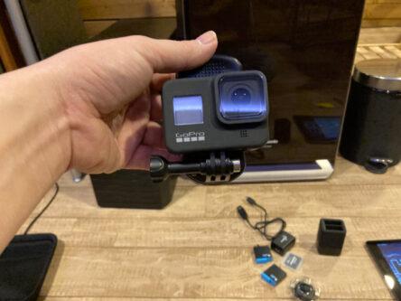 レコーディング風景の撮影用GoProカメラのレンタルについて